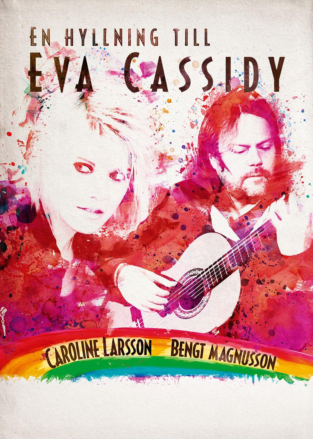 En hyllning till Eva Cassidy - affisch av Bullit reklambyrå