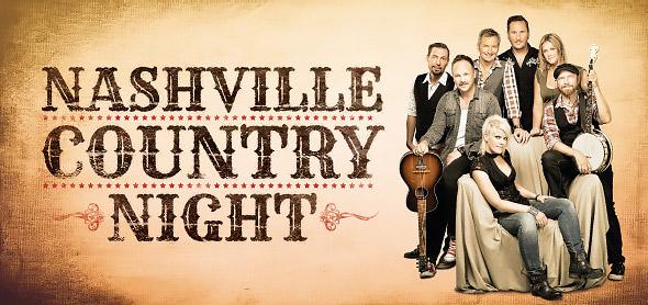 Nashville Country Night - banner designad av Bullit Reklambyrå