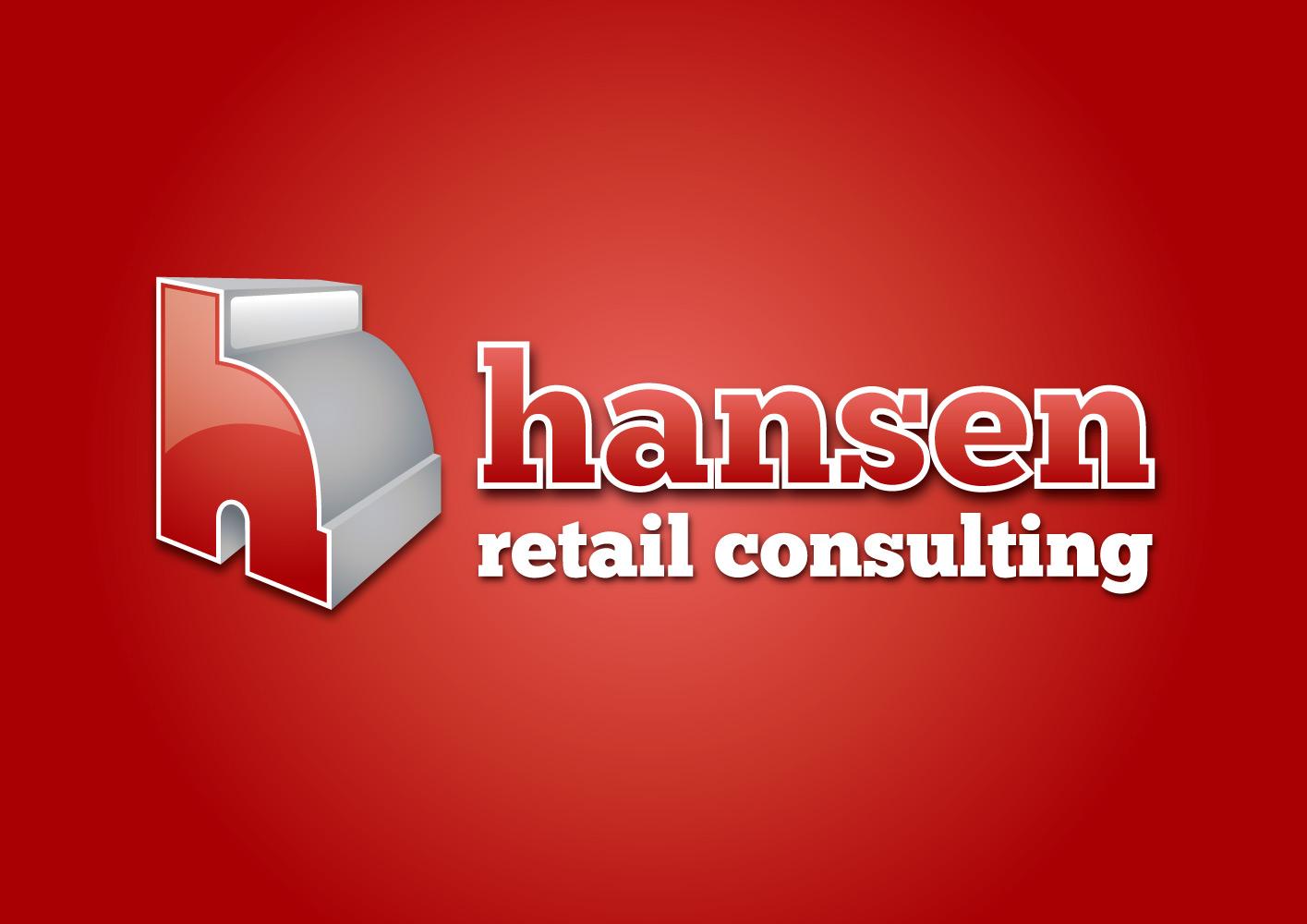 Logo för Hansen retail consulting, designad av Peter Berglund, Bullit Reklambyrå
