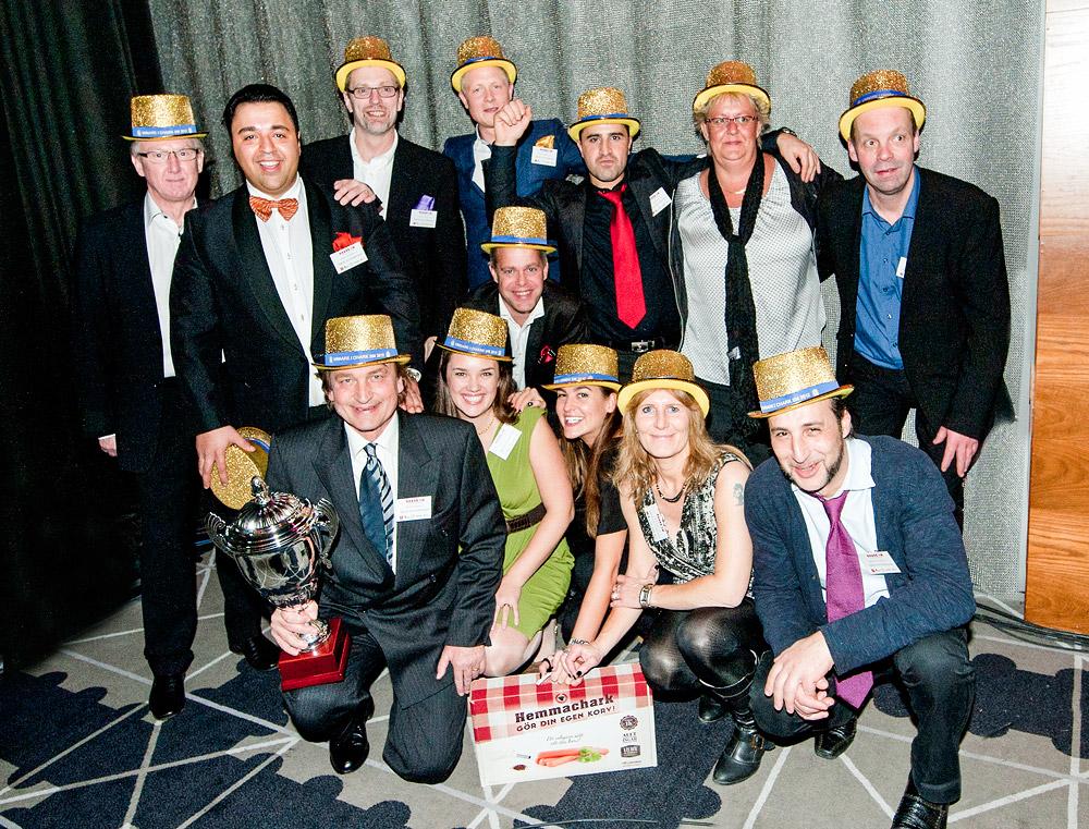Signal & Andersson Hemmachark vinnare Chark-SM 2012