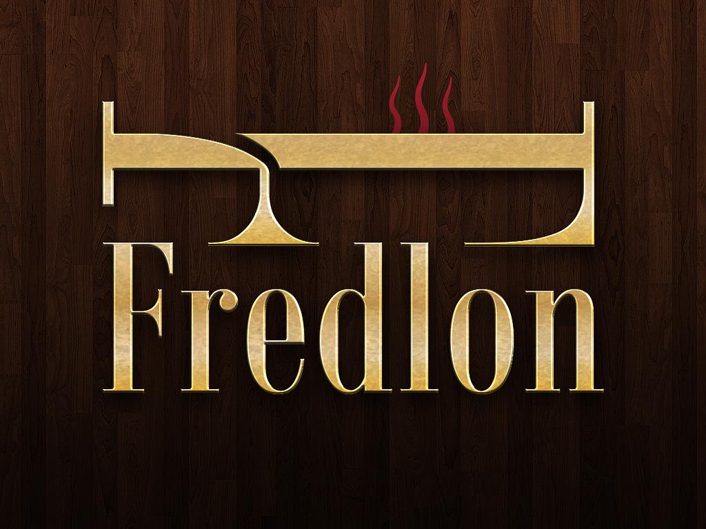 Logo för Fredlon, designad av Peter Berglund, Bullit Reklambyrå